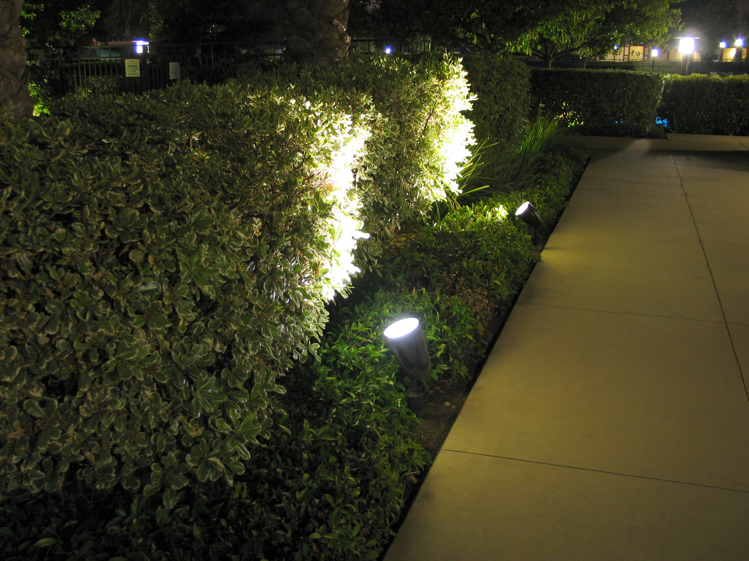 Outside Walkway Led Corner Light Led Lighting Factory